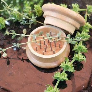 NWOT Wooden & Metal Herb Grinder